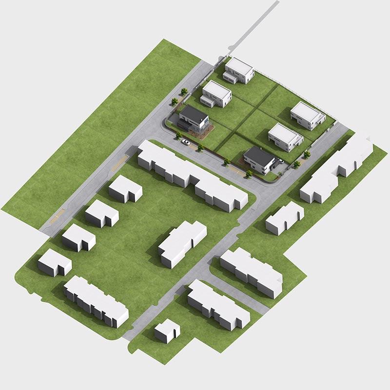 Solitérní dům Ve Vinoři - typ b5 – vizualizace
